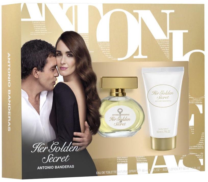 Antonio Banderas Her Golden Secret 50ml EDT + 50ml Body Lotion