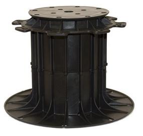 SN Adjustable Pedestal 140-260mm Black 6pcs