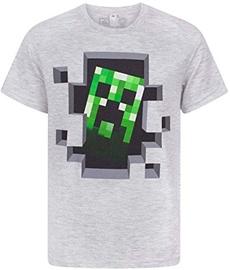 Jinx Minecraft Creeper Inside Men's Premium T-Shirt Grey M