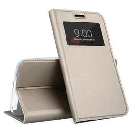 Mocco Smart Look Magnet Book Case For Samsung Galaxy S10 Plus Gold