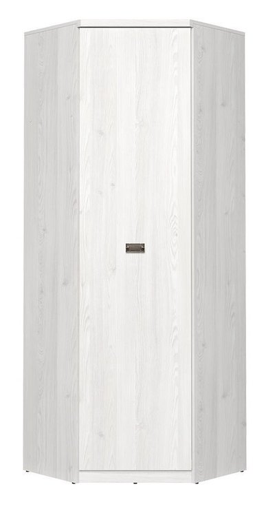Skapis Black Red White Namur Light Siberian Larch, 74x74x205.5 cm