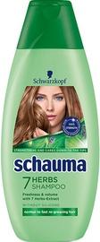 Šampūns Schwarzkopf Schauma 7 Herbs, 250 ml