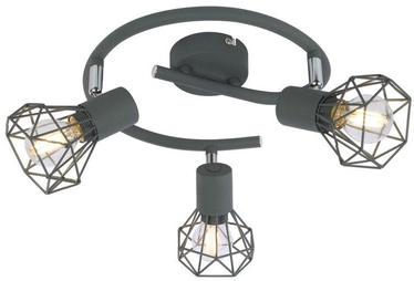 Candellux Verve 3X40W E14 Ceiling Lamp Spiral Matt Gray