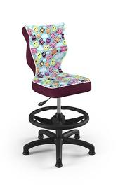 Bērnu krēsls Entelo Petit ST32, melna/daudzkrāsains, 350 mm x 950 mm