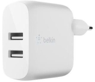 Belkin Boost Dual USB Wall Charger White