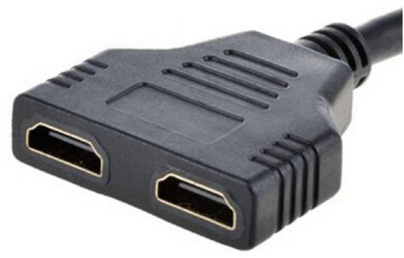 Gembird Cable HDMI x2 / HDMI Black