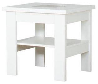 Kafijas galdiņš Bodzio S27 White, 600x600x590 mm