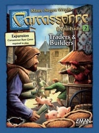 Настольная игра Brain Games Carcassonne: Expansion 2 Traders & Builders
