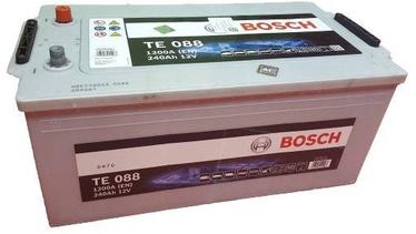 Akumulators Bosch TE088, 12 V, 240 Ah, 1200 A