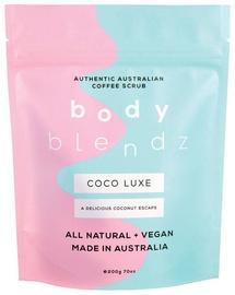 Ķermeņa skrubis Bodyblendz Coco Luxe Coffee, 200 ml