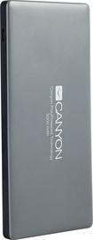 Ārējs akumulators Canyon CNS-TPBP5DG Dark Grey, 5000 mAh