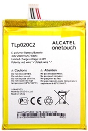 Alcatel Original Battery One Touch Idol X/Idol 2/Idol S 2000mAh