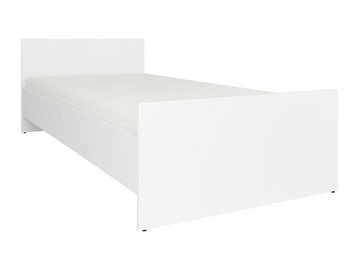 Кровать Black Red White Nepo White, 203x95 см