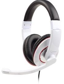 Austiņas Gembird MHS-001-GW Glossy White