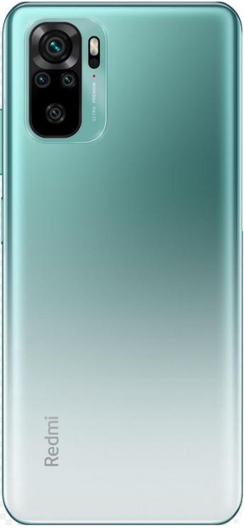 Mobilais telefons Xiaomi Redmi Note 10, zaļa, 4GB/128GB