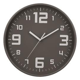 Pulkstenis sienas pelēks silent d30