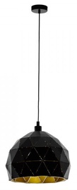 Eglo Roccaforte 97841 Ceiling Lamp 60W E27 Black/Gold