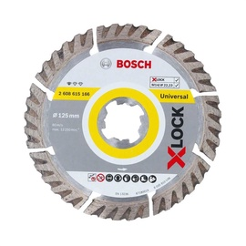 Bosch X-Lock 2608615166 Universal Diamond Cutting Disc 125x2mm