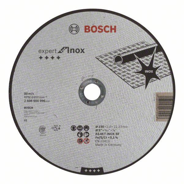 Griešanas asmens Bosch Expert for Inox Disc 230x22mm