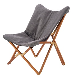 Atzveltnes krēsls Halmar Volant Grey, 76x83x97 cm