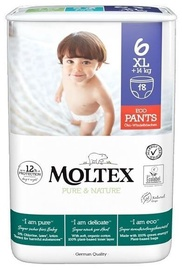 Moltex Pure & Nature Diapers Panties XL S6 18