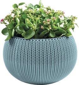 Curver Flower Pot Cozy M 229539 Misty Blue