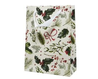 Kaemingk Paper Giftbag 10x26x32cm 451290