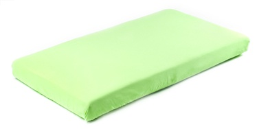 BabyOno Frotte Bed Sheet With Band 120x60 Green