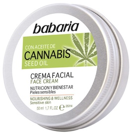 Sejas krēms Babaria Cannabis Face Cream, 50 ml