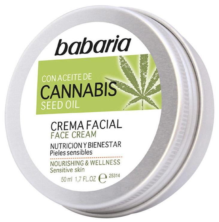 Sejas krēms Babaria Cannabis Face Cream, 50 ml