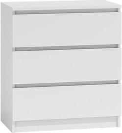 Комод Top E Shop Malwa M3 White, 70x40x77 см