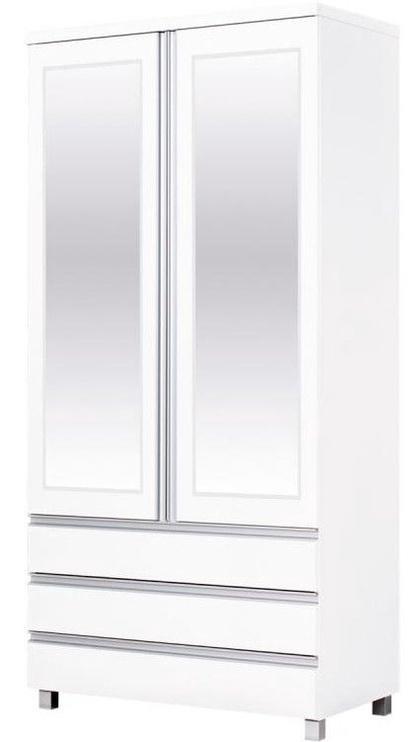 Skapis Bodzio AG40, balta, 90x52x190 cm