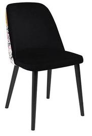 Ēdamistabas krēsls Black Red White Aka, daudzkrāsains
