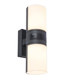 Светильник Lutec Cyra 5198102118, 2 шт., 15Вт, led, IP54, aнтрацит