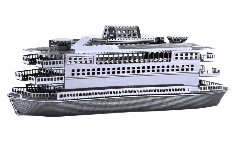 Конструктор Juguetronica Fascination Metal Earth Commuter Ferry 3D Metal Model