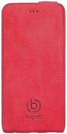 Bugatti Madrid Vertical Book Cover For Samsung Galaxy S6 Red