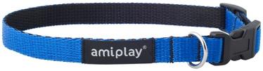 Ошейник Amiplay Twist, синий, 350 мм