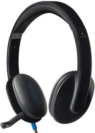 Наушники Logitech H540, черный/серый