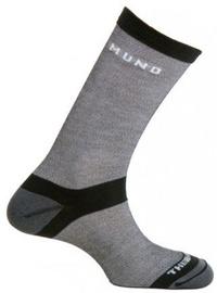 Zeķes Mund Socks Elbrus Black/Grey, M, 1 gab.