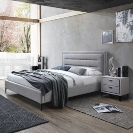 Кровать Home4you Celine Beige, 160 x 200 cm
