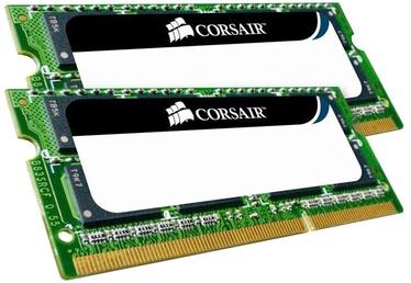 Operatīvā atmiņa (RAM) Corsair Mac Memory CMSA8GX3M2A1066C7 DDR3 (SO-DIMM) 8 GB CL7 1066 MHz