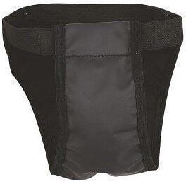 Chaba Dog Panties 2 Mini Dachshund & Mini Poodle Black