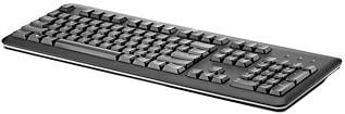 HP 2013 Black design USB Keyboard RU