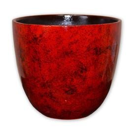 Puķu pods Veta-4, 20x19cm, sarkans