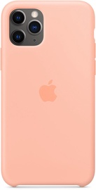 Apple Silicone Back Case For Apple iPhone 11 Pro Grapefruit
