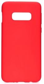 Evelatus Soft Back Case For Samsung Galaxy S10e Red