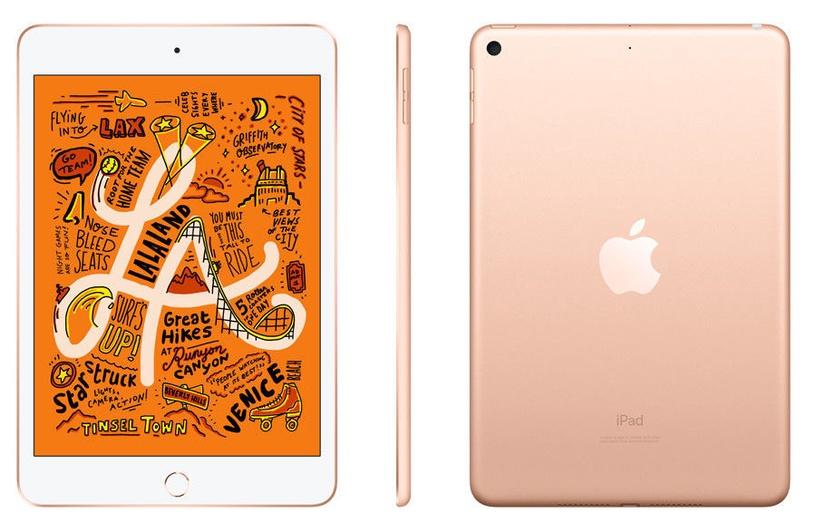 Планшет Apple iPad mini 5 7.9, золотой, 7.9″, 2GB/256GB