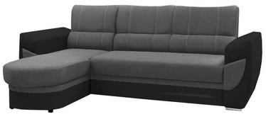 Stūra dīvāns Idzczak Meble Trendi Bahama 34/Soft 11 Gray, kreisais, 250 x 170 x 97 cm
