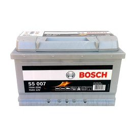 Аккумулятор Bosch S5, 12 В, 74 Ач, 750 а