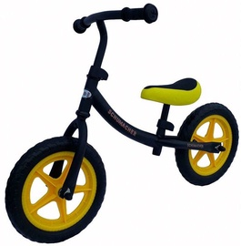 Aga Design Schumacher Kid HP-835 Balance Bike Black/Yellow